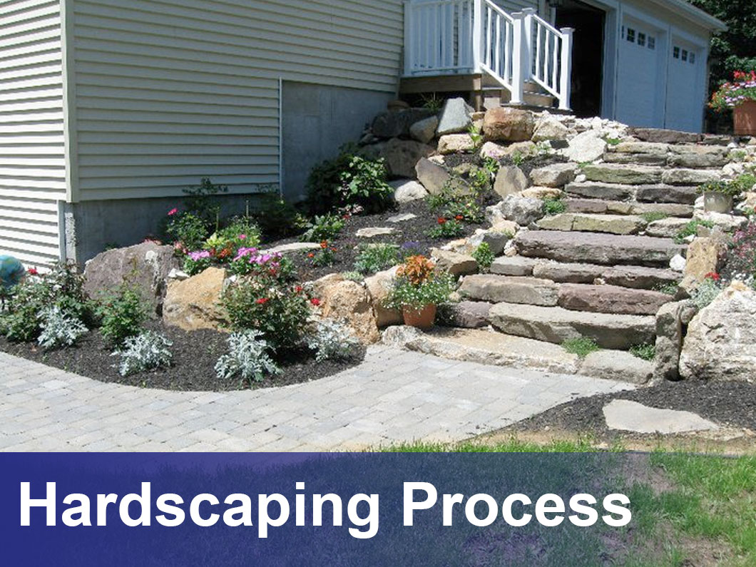 Landscape Design Hardscaping West Bath Brunswick Me